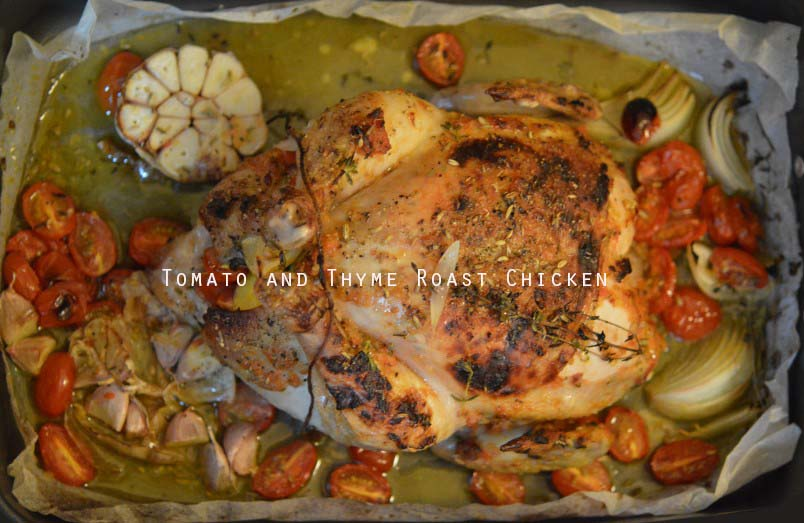 Tomato and Thyme Chicken