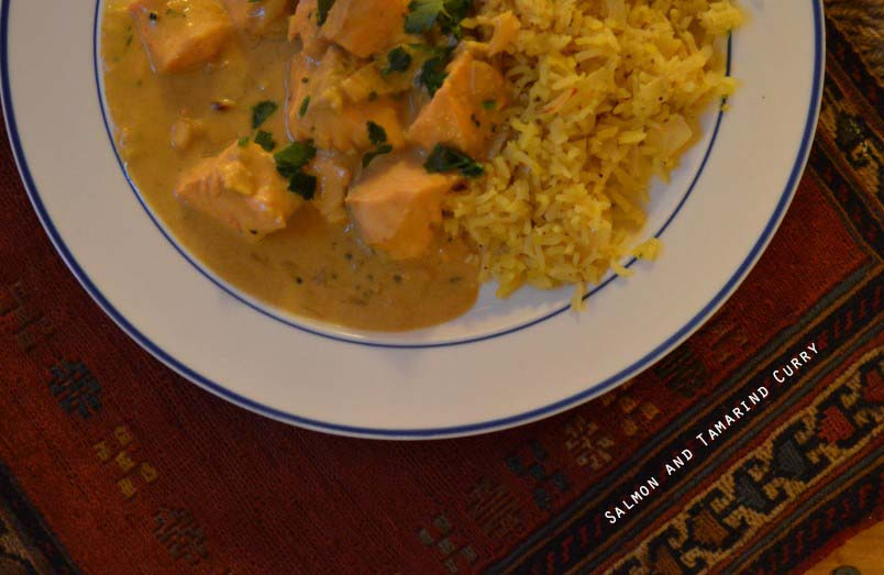 Salmon and Tamarind Curry