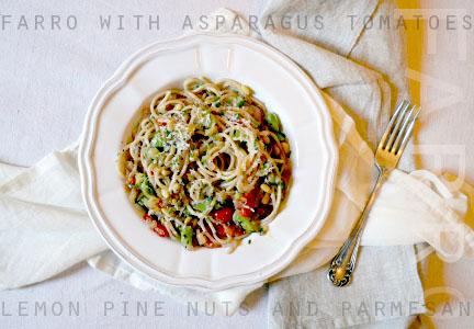 Farro Summer Spaghetti
